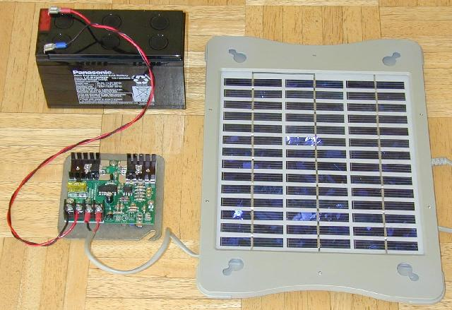 solar panel controller instructions